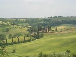 Utsikten i Toscana